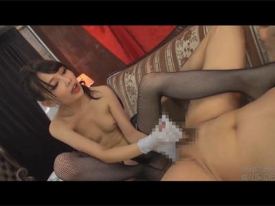 【adaruto動画】M男の前立腺やチンポを「跡美しゅり」がバリ責め!指やペニバンでアナルを犯して射精させてからドライオーガズムで後イキさせる!