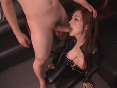 【adaruto動画】「JULIA」がボンデージ姿で男にレイプをされてわがままボディを犯され続ける!