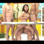【爆乳女子アナadaruto動画】爆乳美女の「澁谷果歩」が女子アナとなってニュース番組中に乱交をしちゃう!