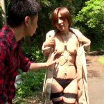 【adaruto動画】「桐岡さつき」が息子の友人の男にアナル調教されながら中出しセックスもしてもらう!